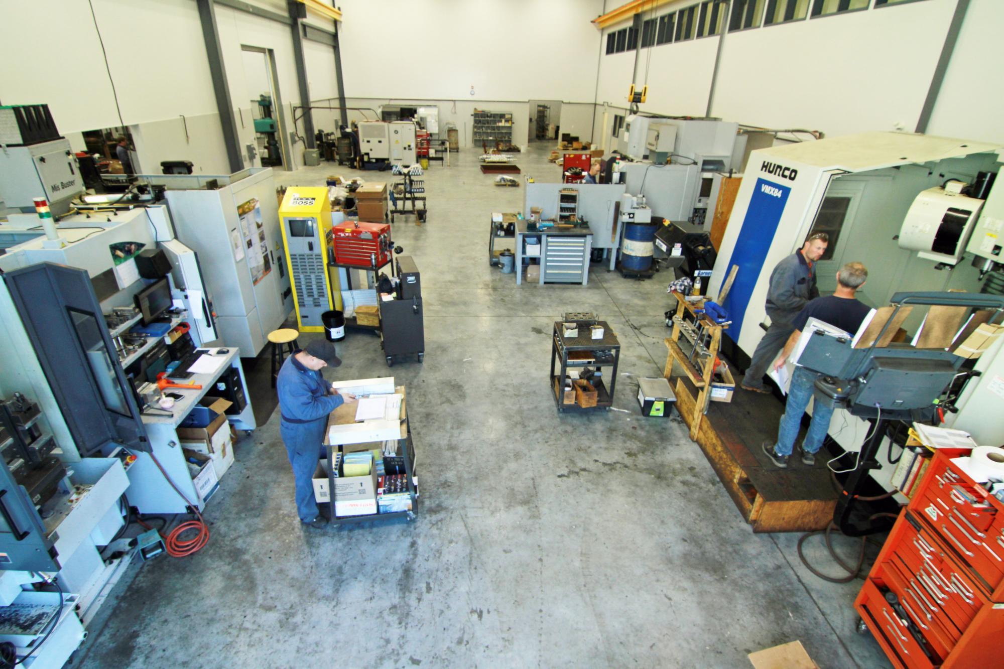 3d machine shop