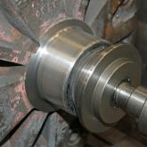 Bearing Fit - Spray Weld after machining