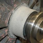 Bearing Fit - Spray weld
